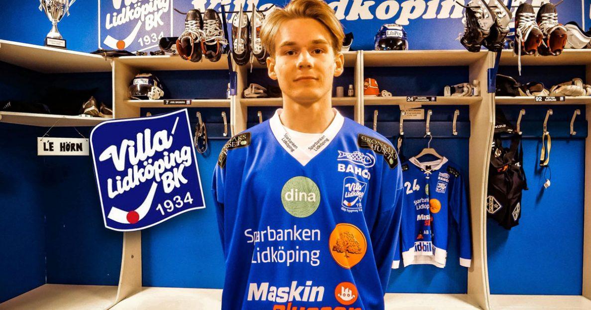 Melker Broberg, villa lidköping, villa lidköping bandy