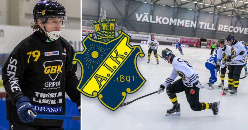 Robin Öhrlund AIK, Robin Öhrlund, AIK bandy, bandy
