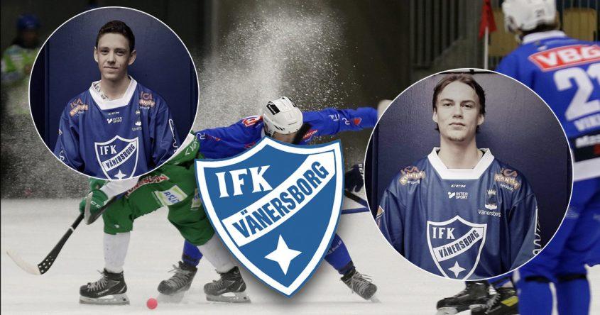 Hugo Sjöling, Hugo Nyman, IFK Vänersborg, Vänersborg bandy