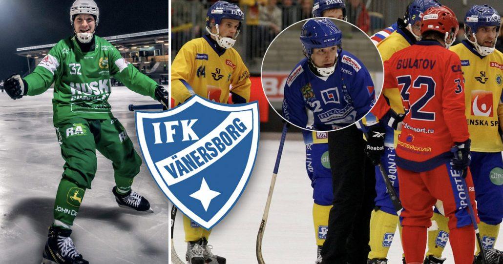 Pavel Bulatov, IFK Vänersborg, IFK, Vänersborg, Bulatov vänersborg, IFK Vänersborg bandy