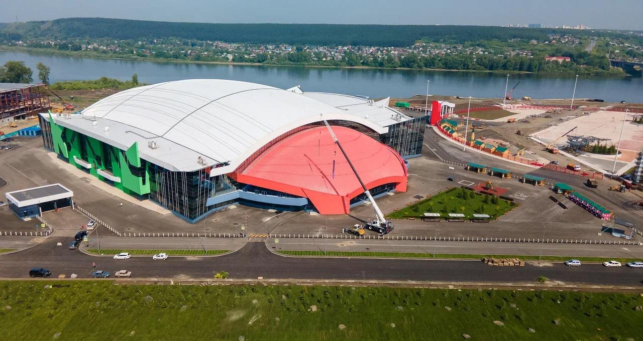 Simon Jansson Edsbyn, Kuzbass bandy, Kuzbass arena