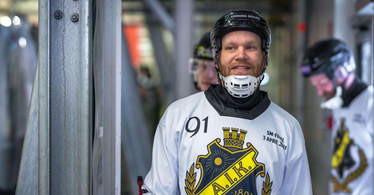 Johan Esplund bandy, Johan Esplund, AIK, Gripen Trollhättan, Gripen bandy, AIK bandy, bandy